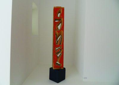 Karl J. Schaefer - Perforierter Block, Weisstanne, 1996